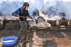 بسیجیان دانشگاه بجنورد ۳ هزار غذا در روز عید غدیر توزیع کردند