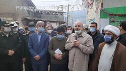رئیس مجلس از روند بازسازی مناطق زلزله زده رامیان بازدید کرد