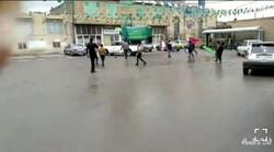 حرکت کارناوال خودرویی به مناسبت نیمه شعبان در اسماعیلآباد مشهد