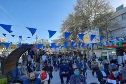 جشن بزرگ نیمه شعبان در دروازه نجف برگزار شد