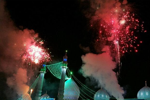 Kum kentinde Hz. İmam Mehdi (a.c) için özel tören