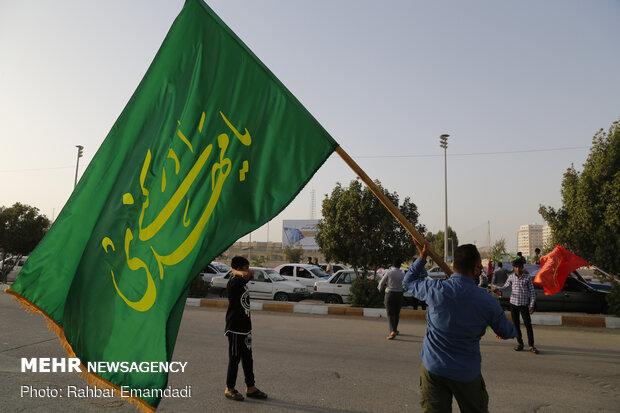 Hz. İmam Mehdi (a.c) için konvoylu kutlama