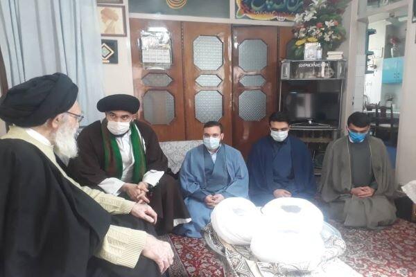 آیین عمامه گذاری ۳ نفر از طلاب حوزه علمیه ورامین برگزار شد