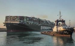 کشتی گیر کرده در کانال سوئز آزاد شد