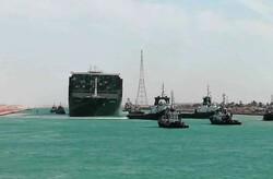 بروز اختلال مجدد در عبور کشتیها از کانال سوئز
