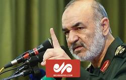 سرلشکر سلامی: دشمن خارجی تاثیری در سرنوشت ملت ندارد