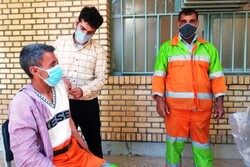 تزریق واکسن کرونا به نارنجیپوشان شهر کرج