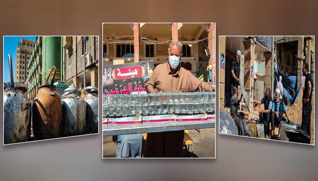 خدمت رسانی ۶۲۰ موکب حسینی به زائران حرم مطهر حسینی در نیمه شعبان