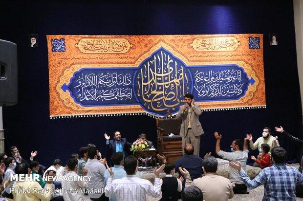 جشن میلاد امام زمان (عج) در امامزاده قاصی الصابر(ع)