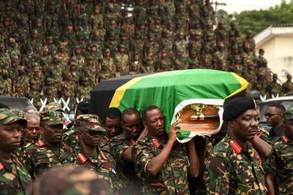 Tanzanya polisi: Magufuli'nin cenaze töreninde 45 kişi öldü