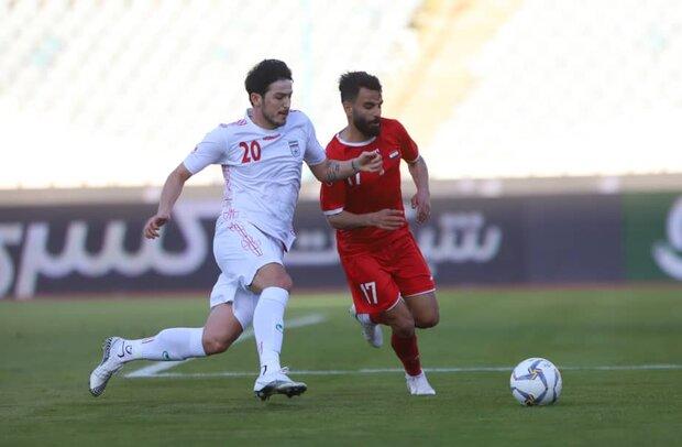 İran-Suriye futbol maçıdan fotoğraflar