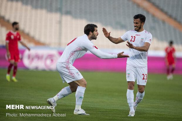 دیدار تیمهای ملی فوتبال ایران و سوریه
