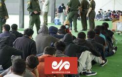 Güney Amerika sınırındaki mülteci kampından görüntüler