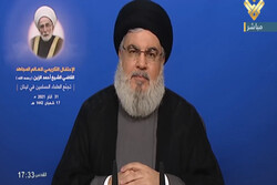 Nasrallah urges US allies to reconsider their assessments