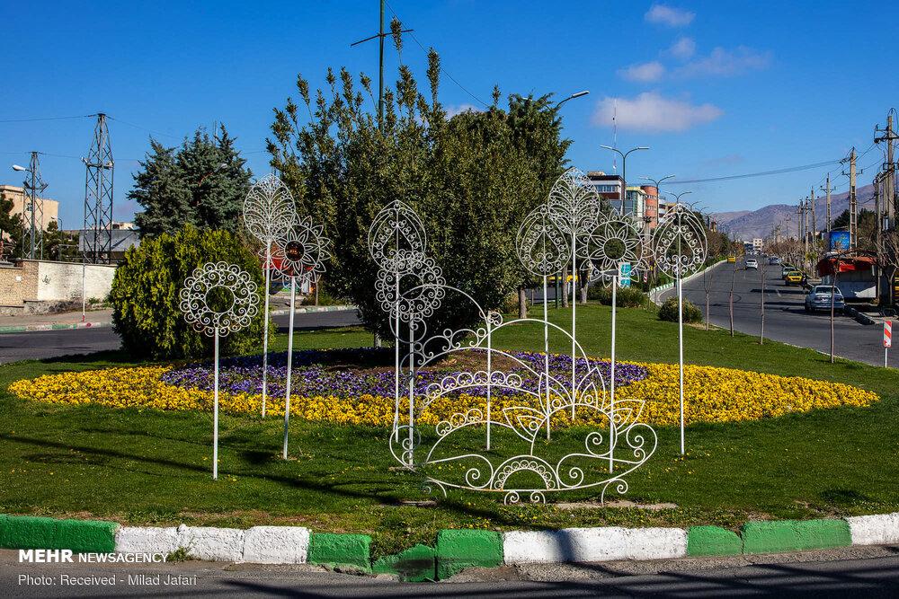 Nowruz elements in Karaj