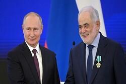 مشاور رئیس جمهور لبنان پیام عون را به پوتین منتقل می کند