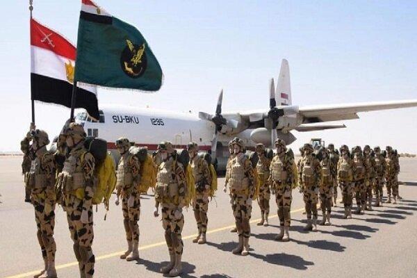 مصر و سودان تمرین هوایی مشترک برگزار کردند