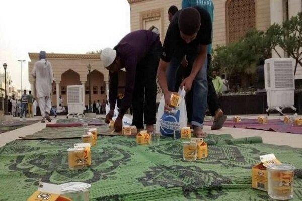 راهاندازی وبسایت توزیع افطاری در امارات