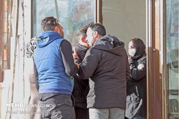 مسافران نوروزی در سرعین و عدم رعایت پروتکل های بهداشتی