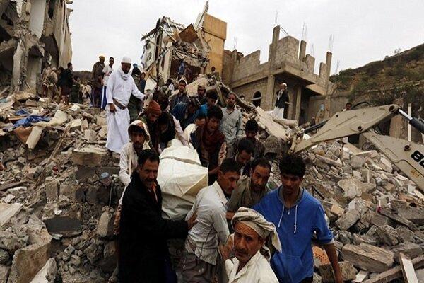 10 غارات لتحالف العدوان السعودي على مأرب وصعدة
