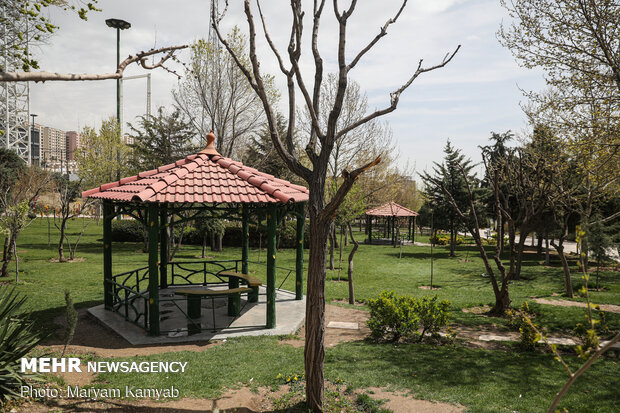 Tehran parks on National Nature Day