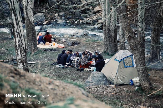 روز طبیعت در همدان