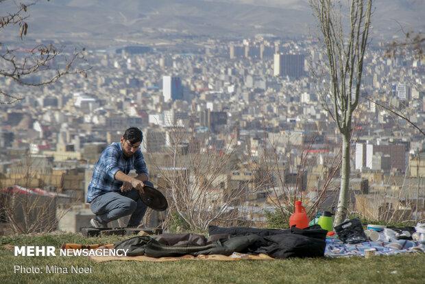 13 بدر 1400 در تبریز