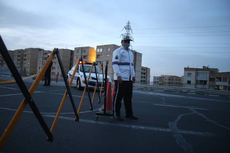 اعمال قانون ۴۰۰۰خودرو در آذربایجانشرقی به دلیل تخلفات کرونایی