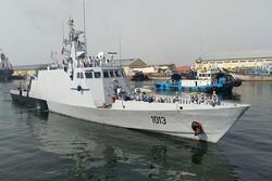 Pakistan Navy Flotilla docks at Bandar Abbas
