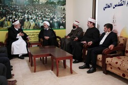 دبیرکل مجمع تقریب مذاهب با اعضای جبهه عملاسلامی لبنان دیدار کرد