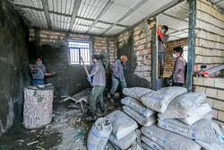 بی بی آمنہ کے لئے امدادی کارکنوں نے گھر تعمیر کردیا