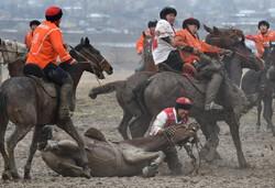 مسابقه بُزکشی در قرقیزستان