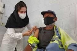 آغاز واکسیناسیون کرونا برای پاکبانهای البرز
