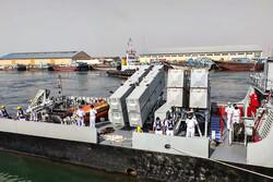 ورود ناوگروه نیروی دریایی ارتش پاکستان به بندرعباس