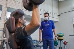 تمرینات بدنسازی ملیپوشان والیبال آغاز شد/ قرنطینه مربی تیم ملی