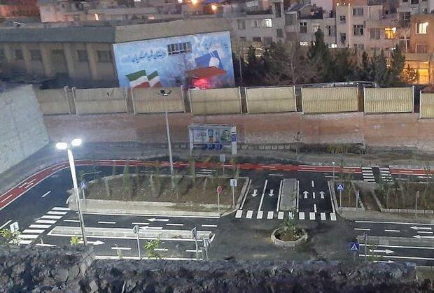 اولین فاز پارک آموزش ترافیک در شمال تهران اجرا شد