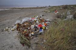 دریاچه مهارلو مملو از زباله شد