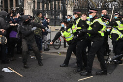 Protest in London against proposed law boosting Police powers