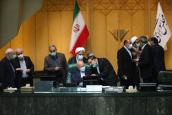 First open session of Iran's Parliament in new year