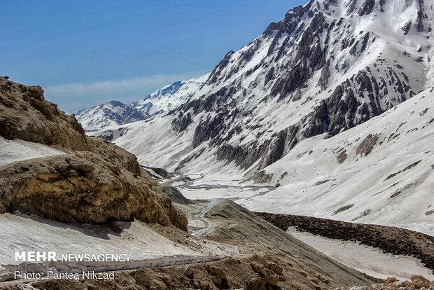 برف روبی و بازگشایی جاده دهستان موگویی