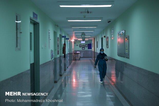 İran'da sağlıkçıların korona mücadelesi sürüyor