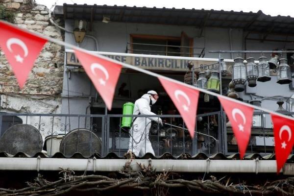 کرونا در ترکیه رکورد زد