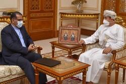 Iranian ambassador, Omani minister discuss bilateral ties