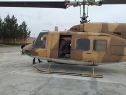 امدادرسانی بالگردهای پایگاه هوانیروز کرمانشاه به کودک ۲ ساله