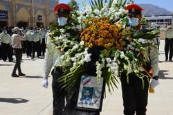 مراسم تشییع پیکر پاک شهید انتظامی فارس در شیراز برگزار شد