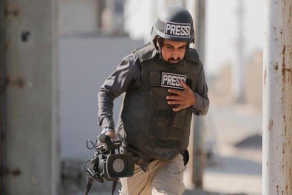 بيان يكشف عن انتهاك صهيوني بحق الصحفيين خلال مارس/أذار