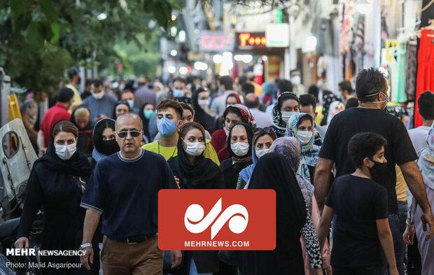 تہران ،  کورونا وائرس کی وجہ سے ریڈ زون قرار