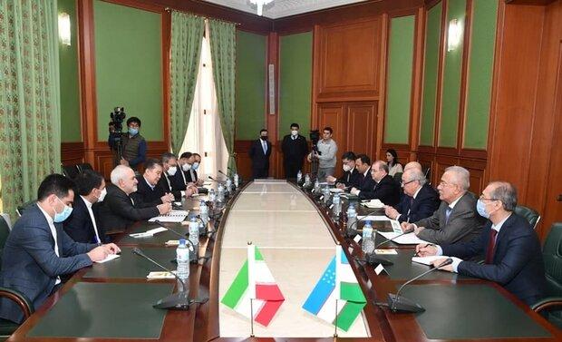 Özbekistan'a İran üzerinden dünya pazarına ulaşmasına imkan sağlayabiliriz
