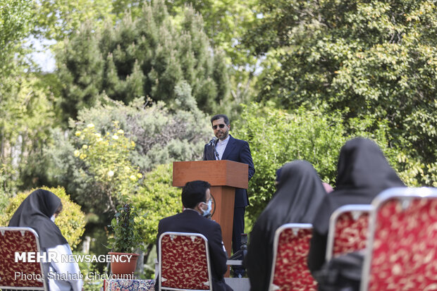 Presser of Iran' Foreign Ministry spox