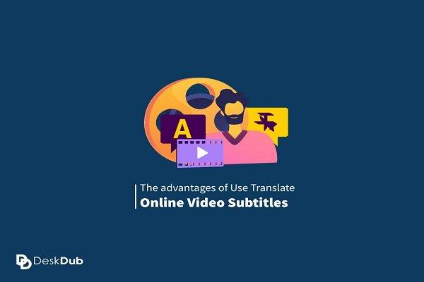 Translate online video subtitles